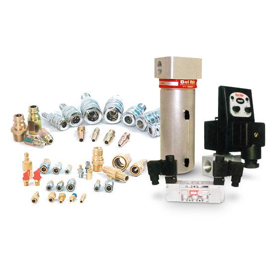 Tratamento do ar e aplicação pneumática Belair, Micro e Dynamics