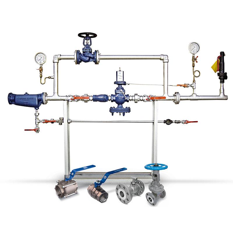 Válvulas e instrumentação para fluídos